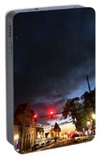Maine Street Sunset  Portable Battery Charger