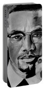 Malcom X Portable Battery Charger