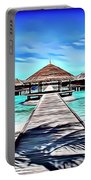 Maldive Beach Portable Battery Charger