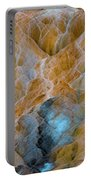 Mammoth Hot Springs Portable Battery Charger by Mae Wertz