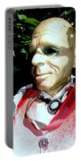 Man In Bushes Portable Battery Charger