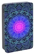 Mandala Love Portable Battery Charger