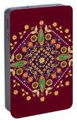 Mandala Flowering Series#2. Terracotta Portable Battery Charger