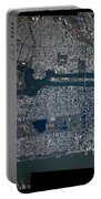 Manhattan - 2012 From Space Portable Battery Charger by Celestial Images