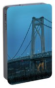 March Evening At Mid-hudson Bridge 2019 Portable Battery Charger