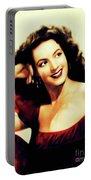 Maria Felix, Vintage Actress Portable Battery Charger