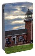 Mark Abbott Memorial Lighthouse And Santa Cruz Surfing Museum Portable Battery Charger
