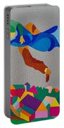 Mark And Bella Chagall Above The City Portable Battery Charger