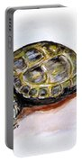 Marshal The Turtle Portable Battery Charger by Clyde J Kell