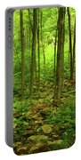 Massachusetts Appalachian Trail Spring Green Portable Battery Charger