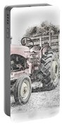 Massey Harris Portable Battery Charger by Brad Allen Fine Art
