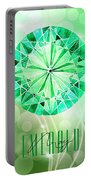 May Birthstone - Emerald Portable Battery Charger