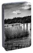Mccormack's Beach Provincial Park, Black And White Portable Battery Charger