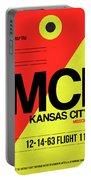 Mci Kansas City Luggage Tag I Portable Battery Charger