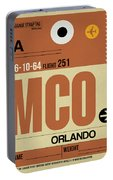 Mco Orlando Luggage Tag I Portable Battery Charger