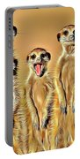 Meerkat Family Portable Battery Charger