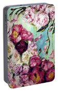 Melting Flowers Portable Battery Charger