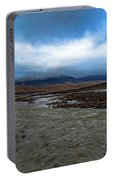 Meltwater Valley On Svalbard Portable Battery Charger