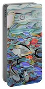 Memory Of The Coral Reef Portable Battery Charger