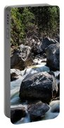 Merced River And Vernal Fall, Yosemite National Park Portable Battery Charger
