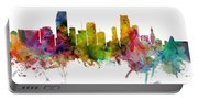 Miami Florida Skyline Panoramic Portable Battery Charger