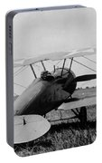 Military Biplane - Marine Flying Field - 1918 Portable Battery Charger