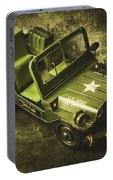 Military Green Portable Battery Charger