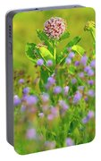 Milkweed Wildflower Field Portable Battery Charger