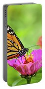 Monarch Butterfly Square Portable Battery Charger