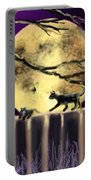 Moon Cats Portable Battery Charger