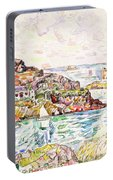 Morlaix, Entrance Of The River - Digital Remastered Edition Portable Battery Charger