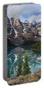 Morning At Moraine Portable Battery Charger