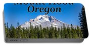 Mount Hood Oregon In Fall Portable Battery Charger