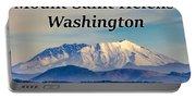 Mount Saint Helens Washington Portable Battery Charger