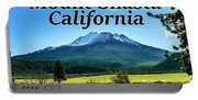 Mount Shasta California Portable Battery Charger