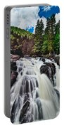 Mount Tremblant Waterfall Portable Battery Charger