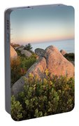 Mount Woodson Rock An Clouds Portable Battery Charger