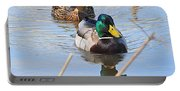 Mr And Mrs Duck Portable Battery Charger