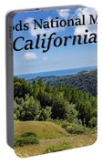 Muir Woods National Monument California Portable Battery Charger