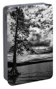 My Favorite Tree Black And White Portable Battery Charger