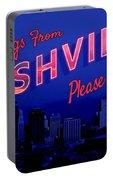Nashville Postcard Portable Battery Charger