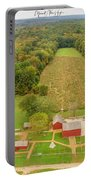 Nathan Hale Homestead Portable Battery Charger