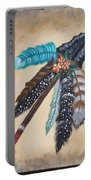 Native American Style  Portable Battery Charger
