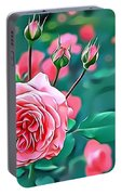 Naturalness And Flowers 31 Portable Battery Charger