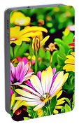 Naturalness And Flowers 35 Portable Battery Charger