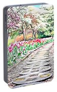 Naturalness And Flowers 36 Portable Battery Charger