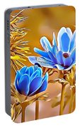 Naturalness And Flowers 47 Portable Battery Charger