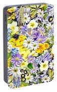 Naturalness And Flowers 54 Portable Battery Charger