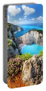 Navagio Bay Portable Battery Charger