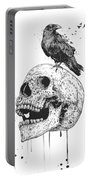 New Skull Portable Battery Charger